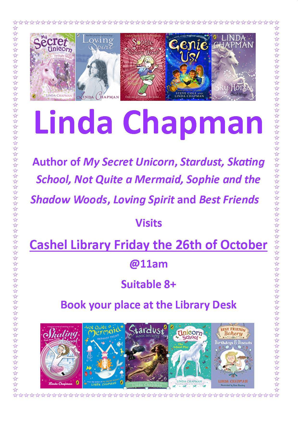Cashel: Author visit with Linda Chapman