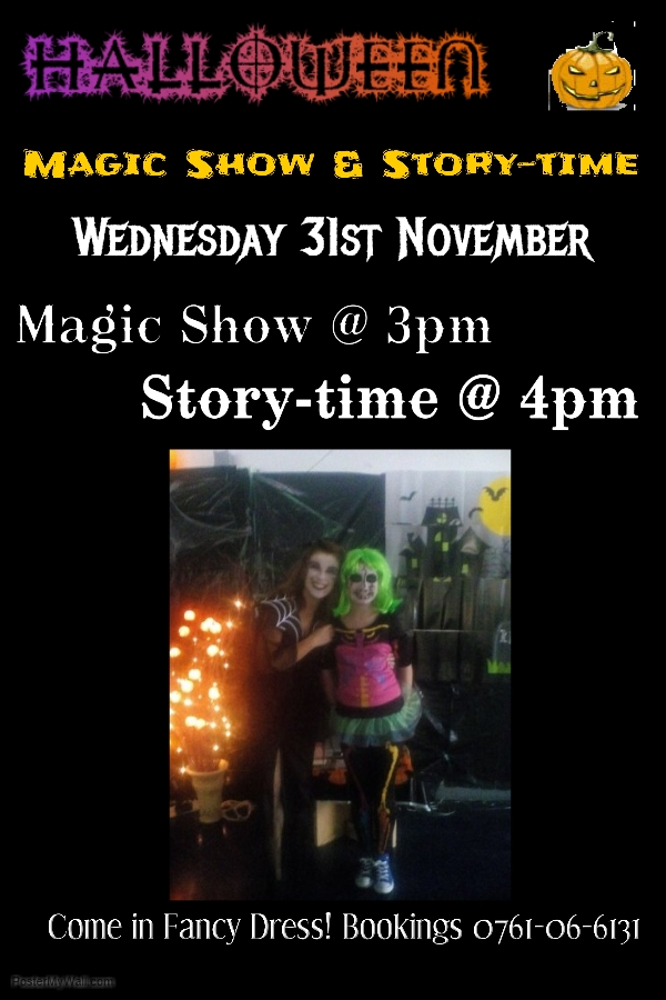 Halloween Magic Show And Story-telling In Thurles Library