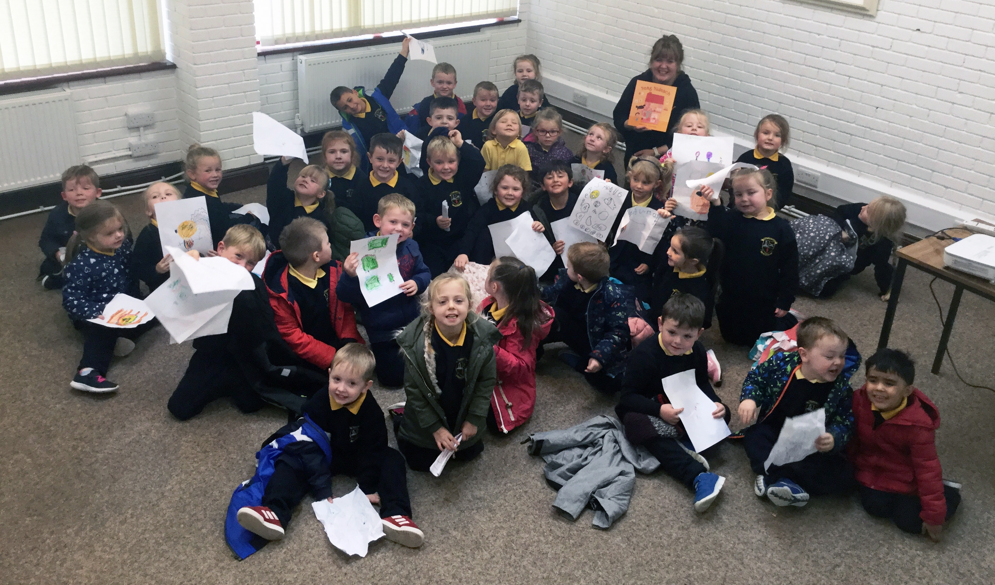 Sadhbh Devlin Visits Roscrea Library