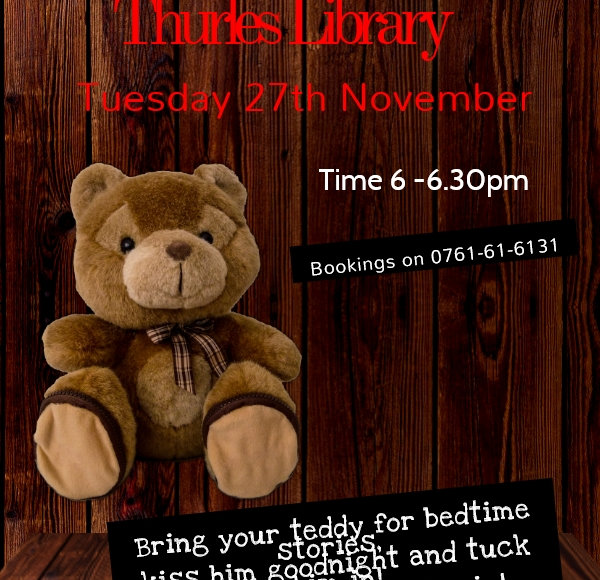 Teddy Bear Sleepover – When Library Lights Go Out!