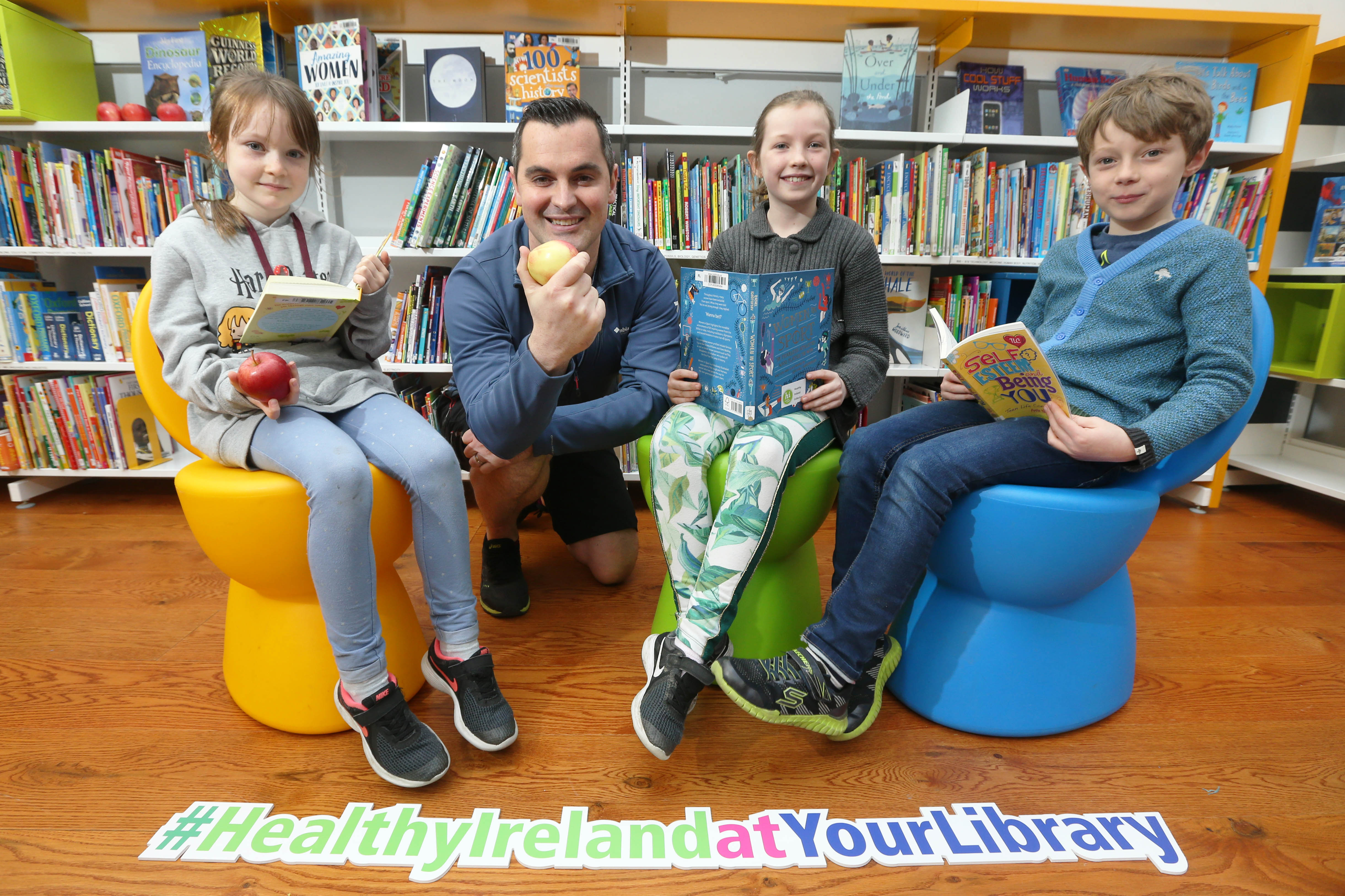 New Healthy Ireland At Your Library Programme  – Eat Well, Think Well, Be Well