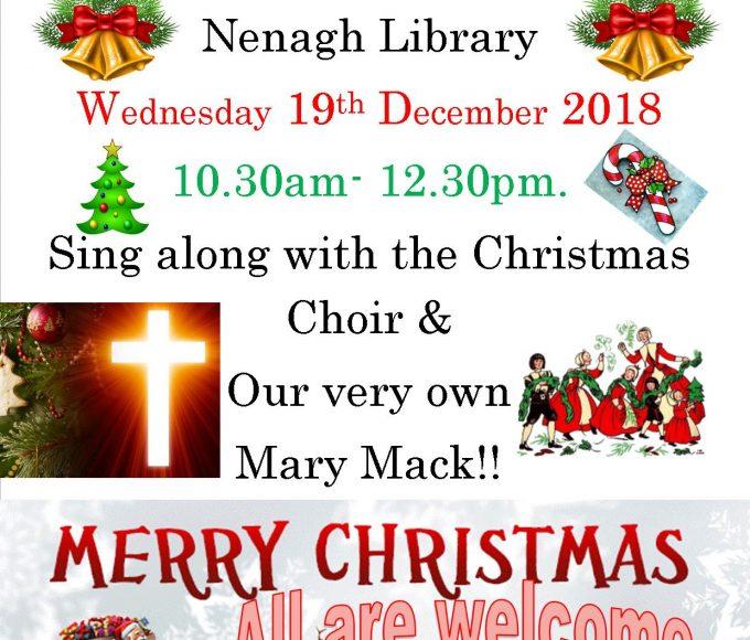 Nenagh Library Christmas Coffee Morning