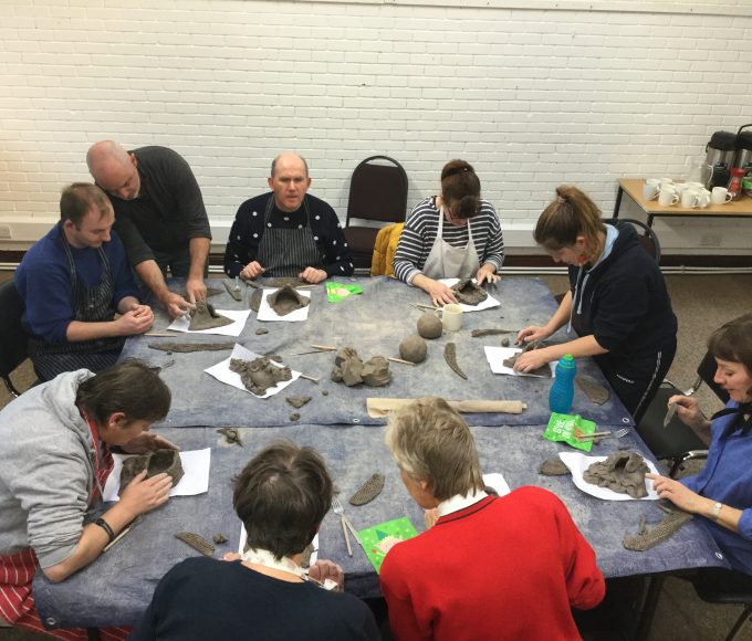 Pottery Workshop In Roscrea Library
