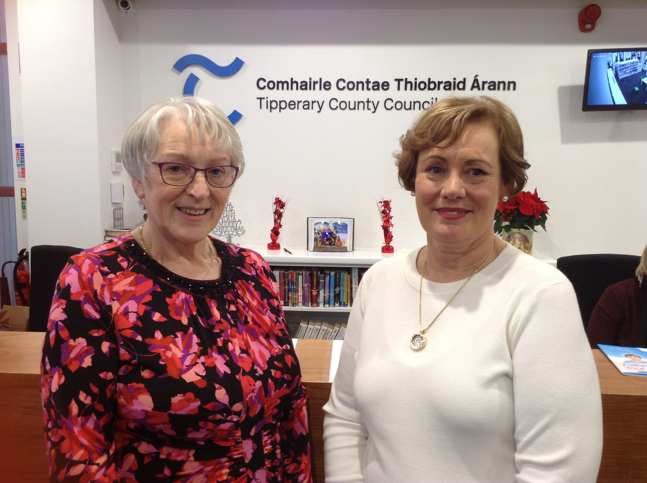 Retirement of Nollaig Butler from Tipperary Town Library