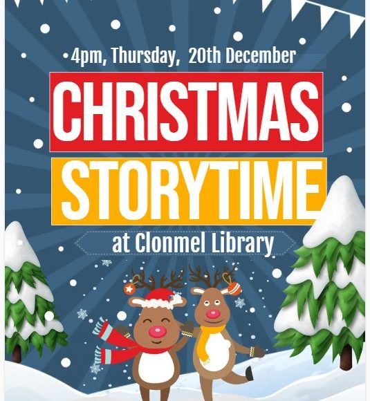 Christmas Storytime At Clonmel Library