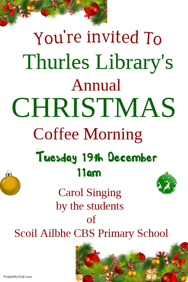 Christmas Morning in Thurles Library
