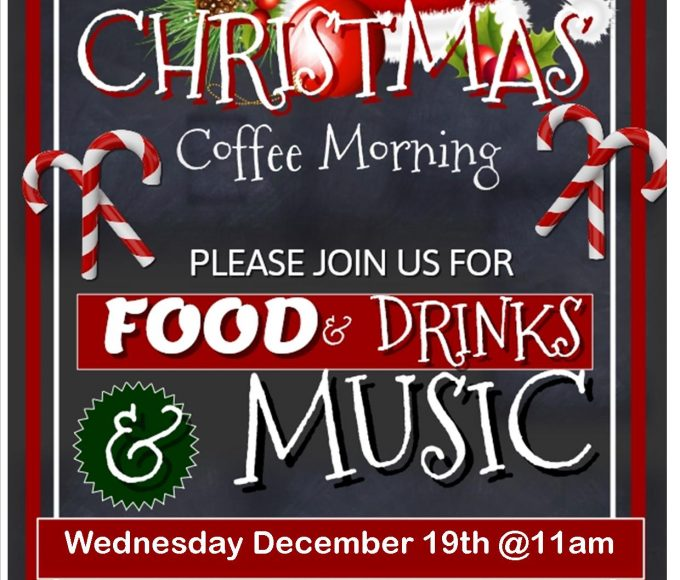 Cashel: Christmas Coffee Morning
