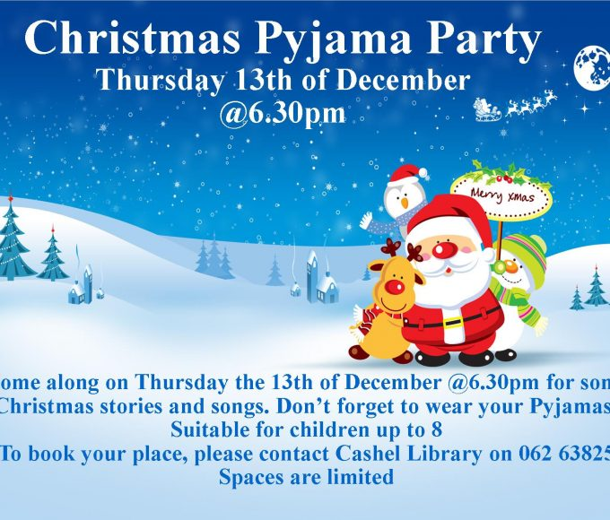 Cashel: Christmas Pyjama Party