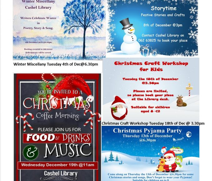 Christmas Events In Cashel Library