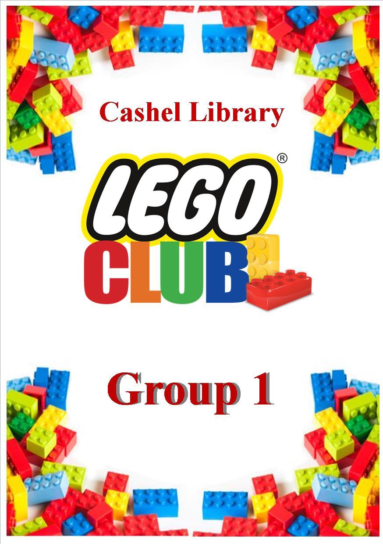 Lego Club 7-9 date leaflet