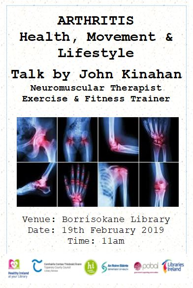 Arthritis: Health, Movement And Lifestyle A Talk By John Kinahan