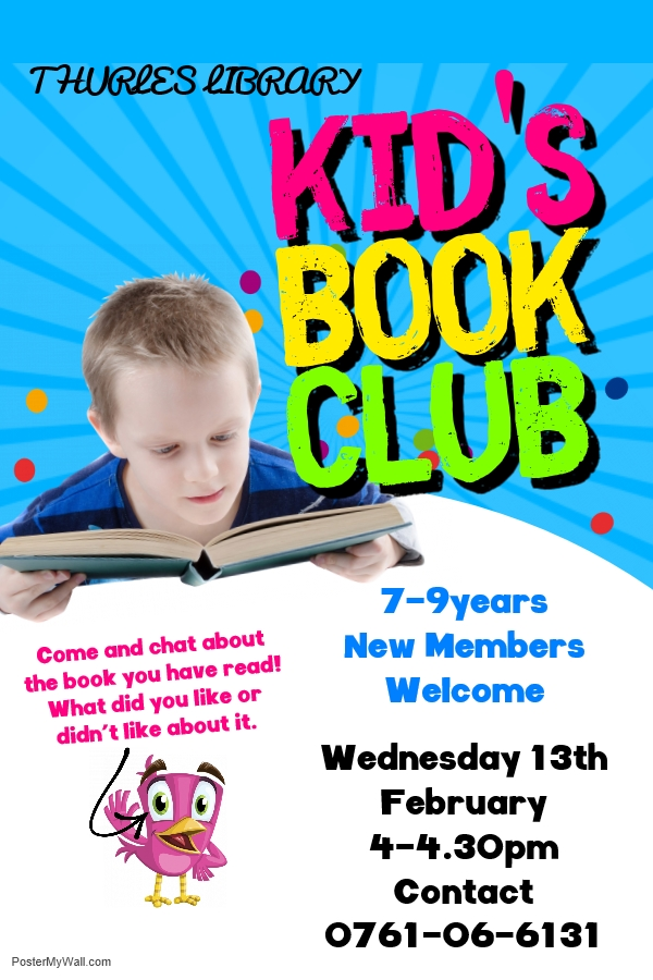 Book club 7-9 poster