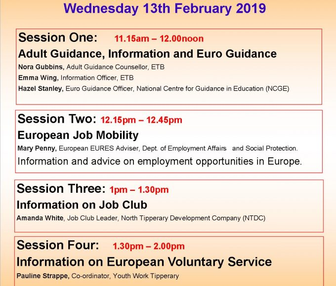 """""""Pathways To Education, Training And Work In Europe"""": Nenagh Library"""
