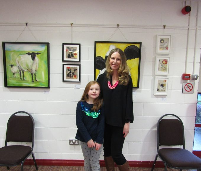 "Melissa Ryan Of ""Coosane Creations"" Exhibition: Nenagh Library"