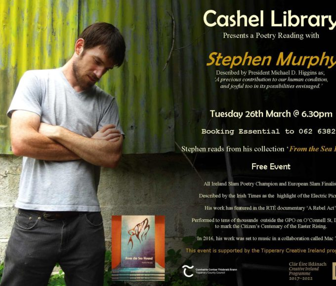 Cashel; Poetry Reading With Stephen Murphy