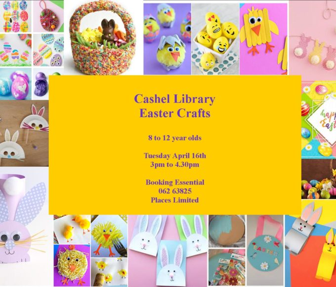 Easter Crafts At Cashel Library