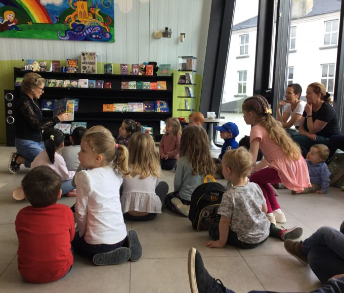 Story-time Fun In Thurles Library!