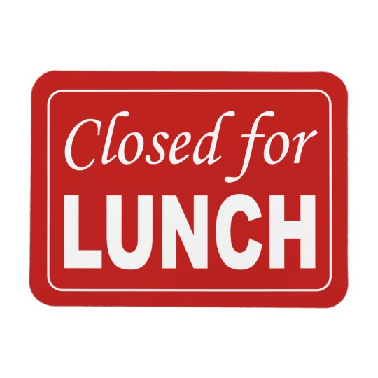 Thurles Library Closed For Lunch Wednesday & Thursday