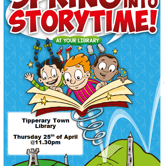 Spring Into Storytime In Tipperary Town