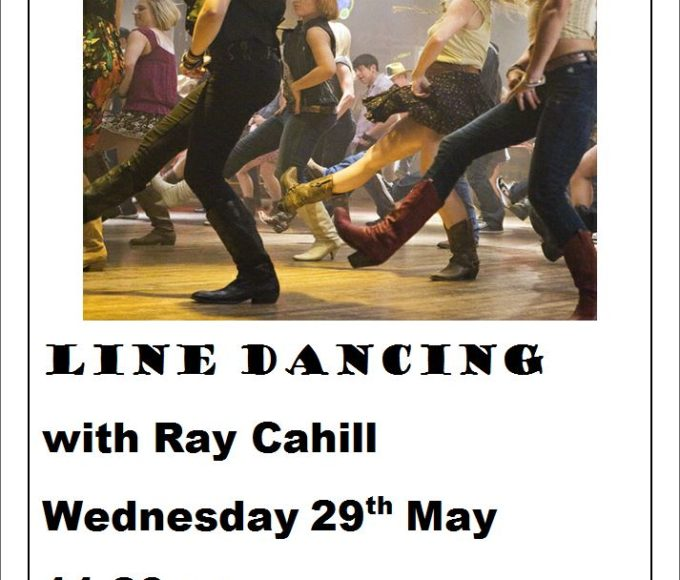 Templemore Library  – Line Dancing With Ray Cahill Wednesday 29th May @ 11.30am