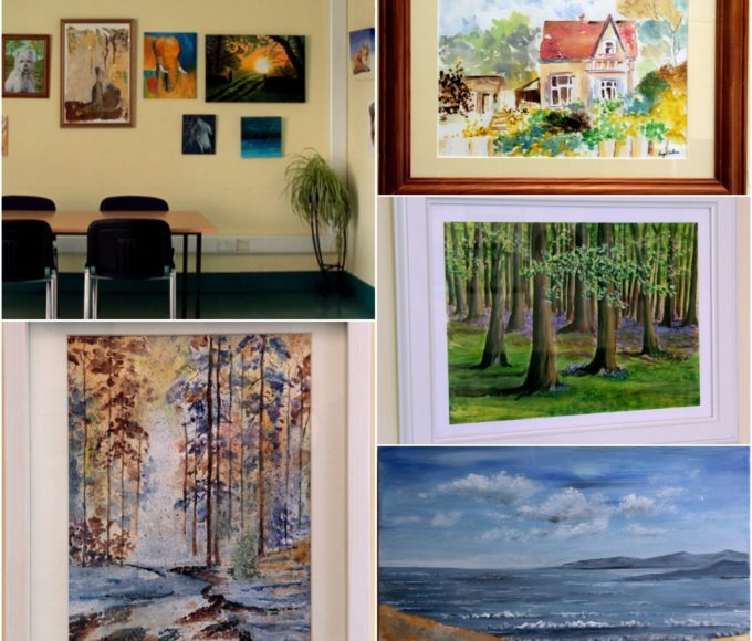 "Templemore Library – ""Brushstrokes"" – An Exhibition Of Work From Thurles Local Art Group"