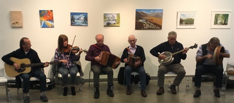 The Monk's Musicians At Thurles Library