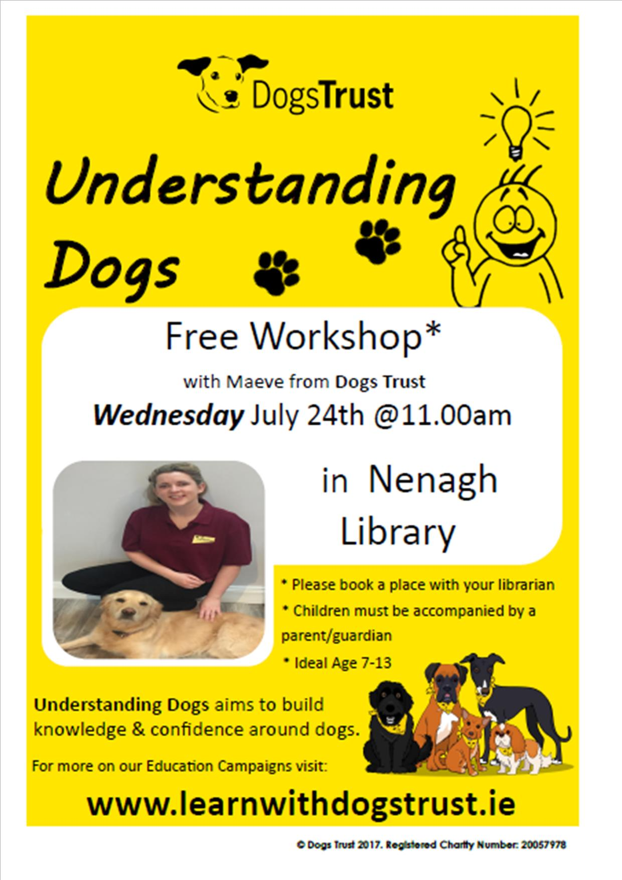 """Understanding Dogs Workshop"" : Nenagh Library"