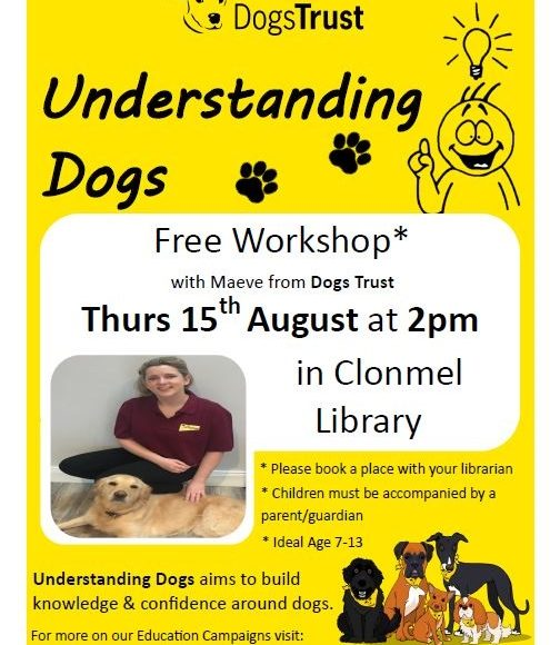 Dogs Trust Workshop At Clonmel Library