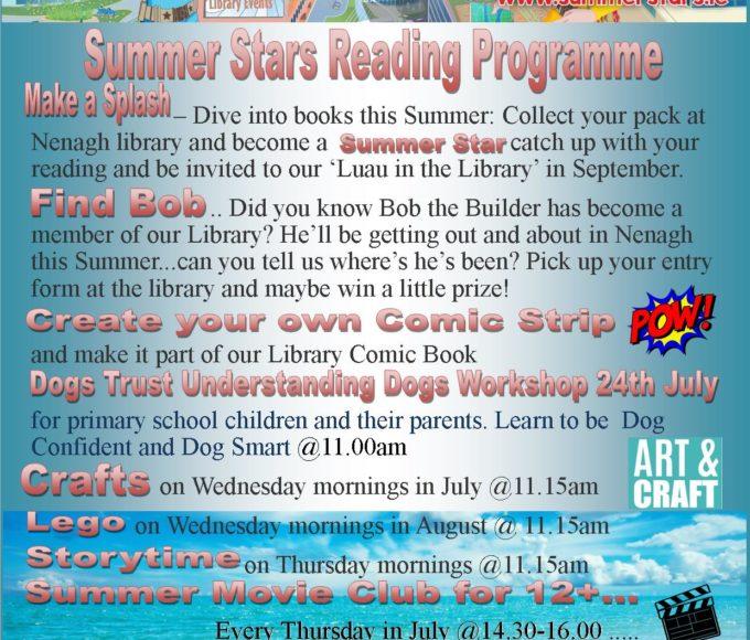 Summer Stars At Nenagh Library 2019