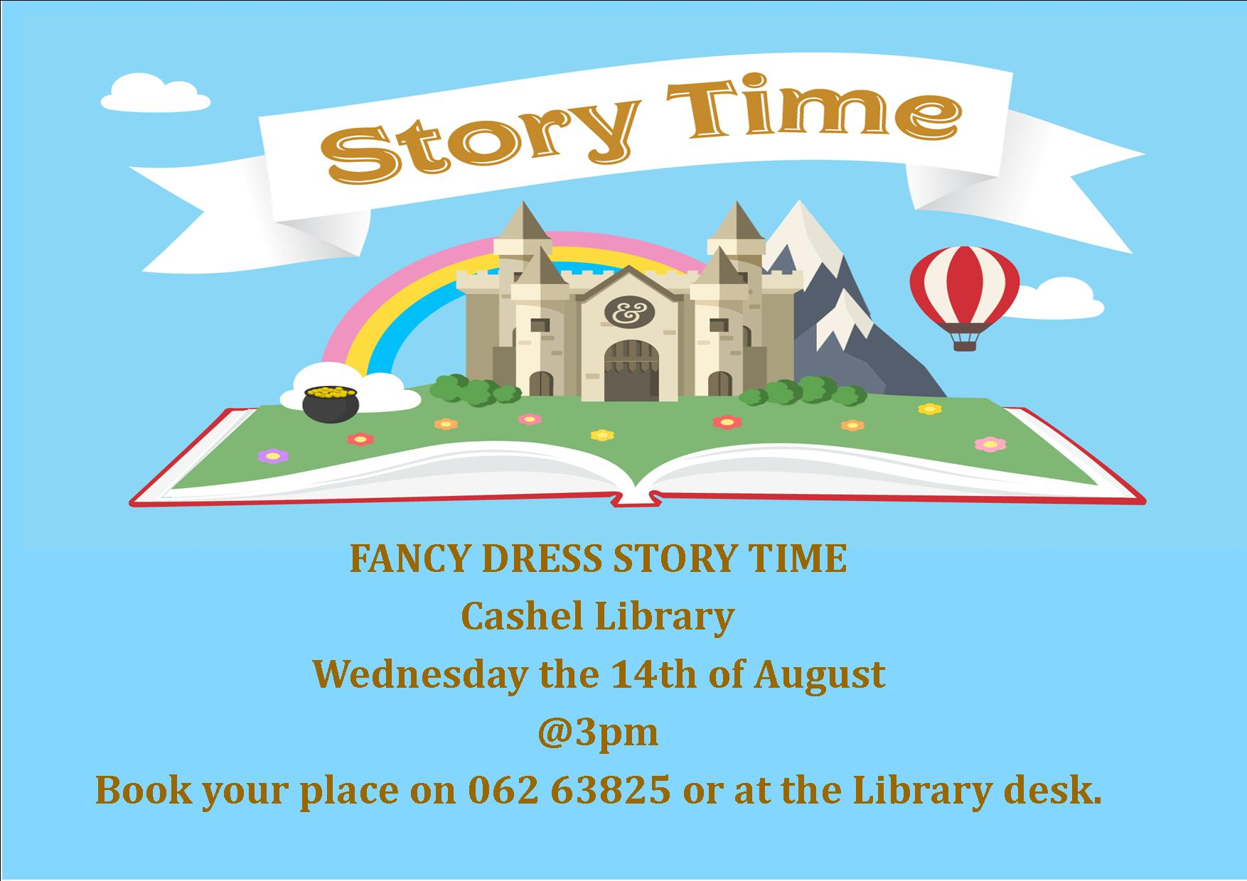 Fancy Dress Storytime in Cashel Library