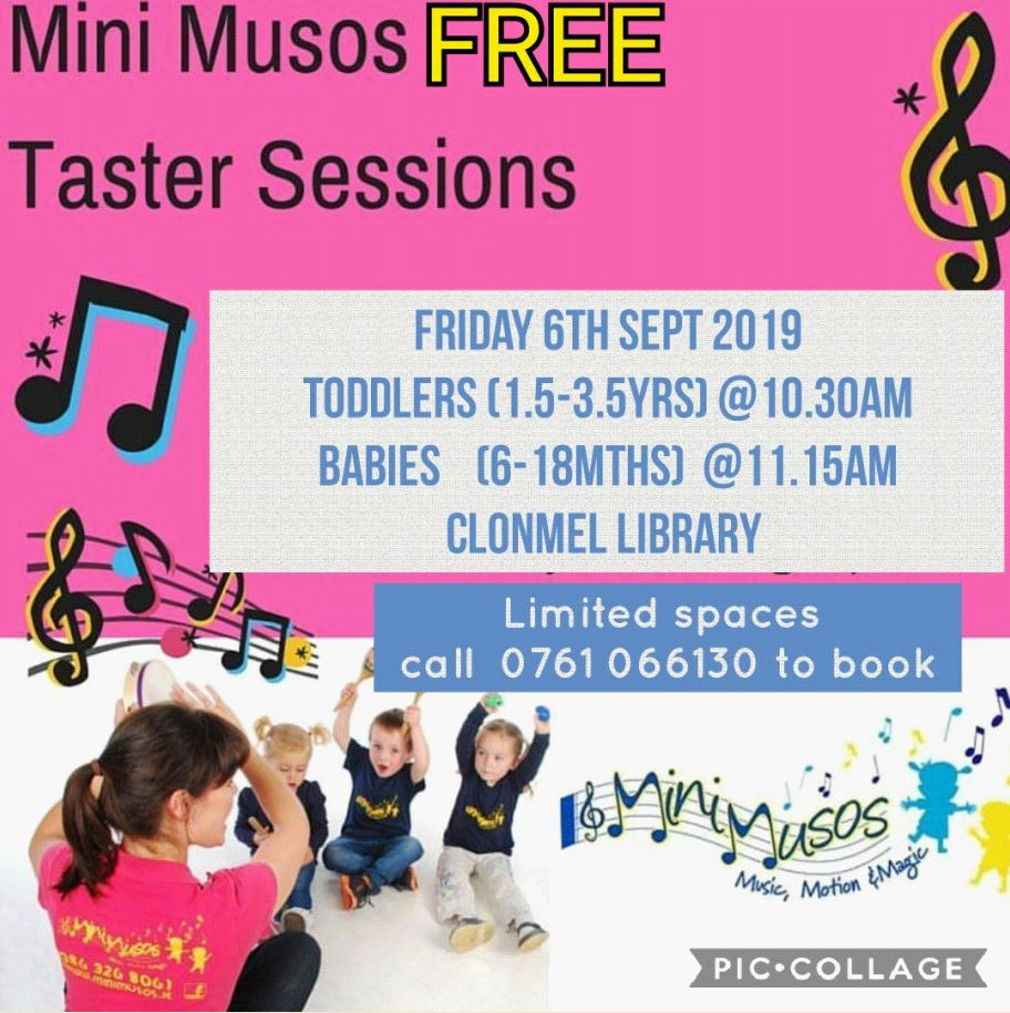 Mini Musos at Clonmel Library