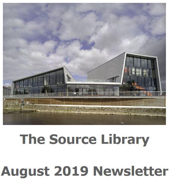 Thurles Library August 2019 Newsletter