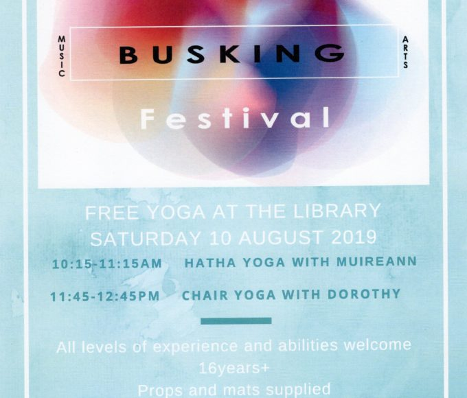 Free Yoga At Clonmel Library