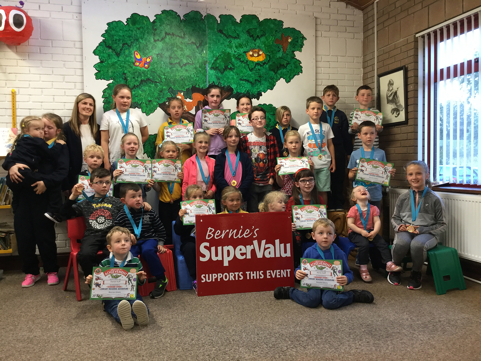 Summers Stars In Roscrea Library