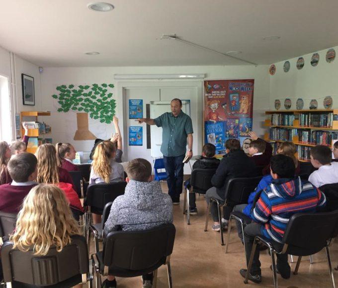 Author Alan Nolan Visits Cloughjordan Library