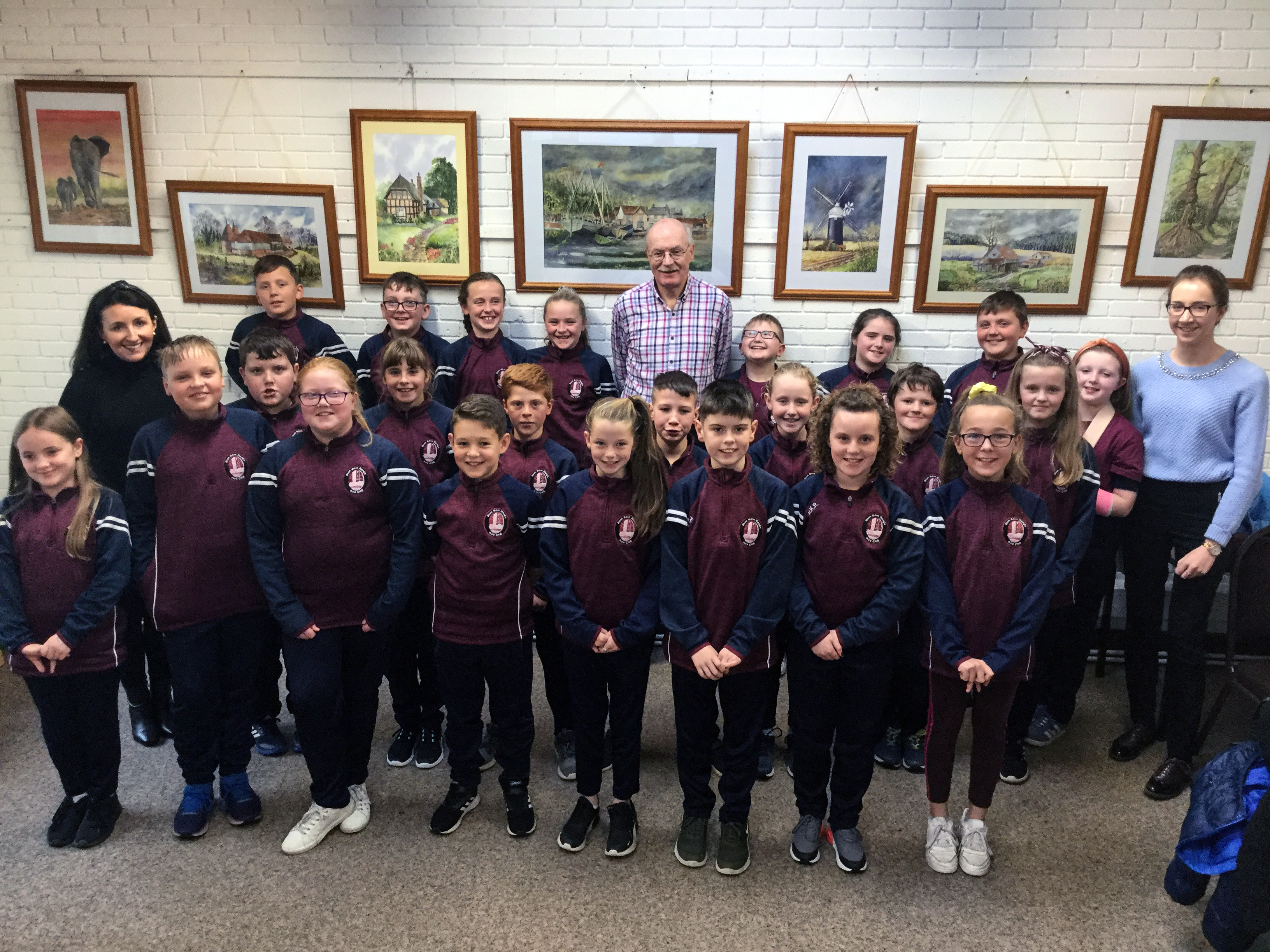 Author Brian Gallagher Visits Roscrea Library