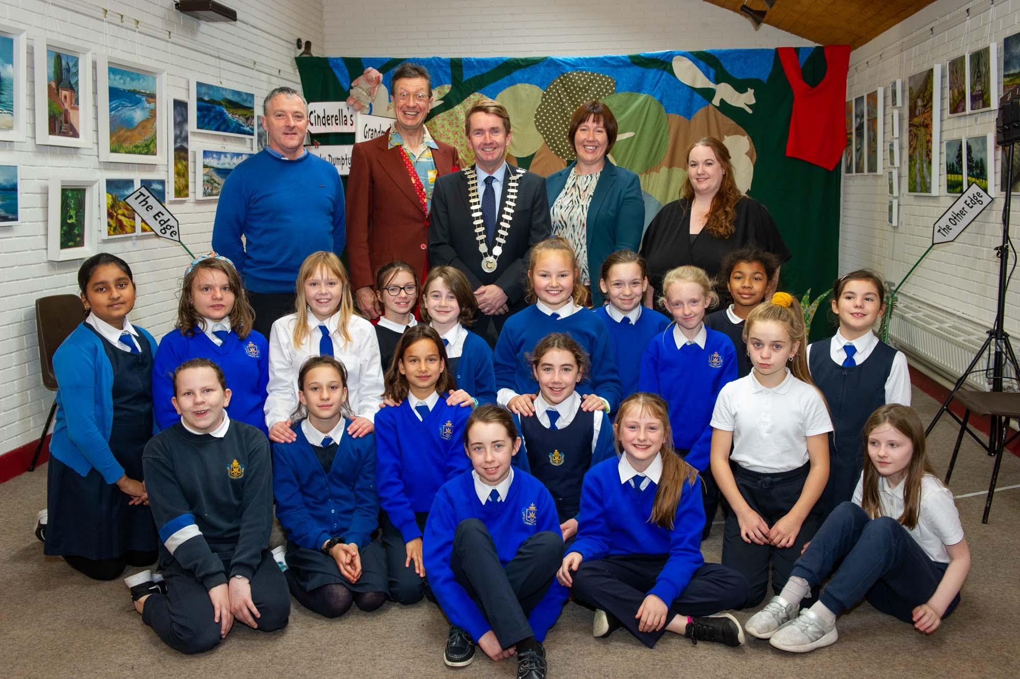 Cathaoirleach Cllr Michael Murphy Launches Children's Book Festival 2019