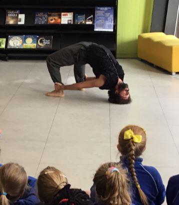 2019 Tipperary Dance Platform International Festival Visits Thurles Library