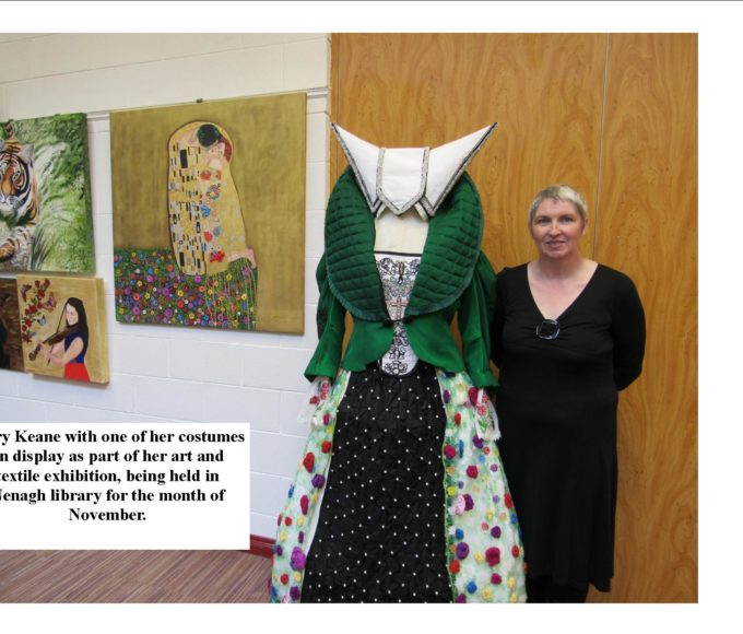 Mary Keane's Exhibition In Nenagh Library For November.