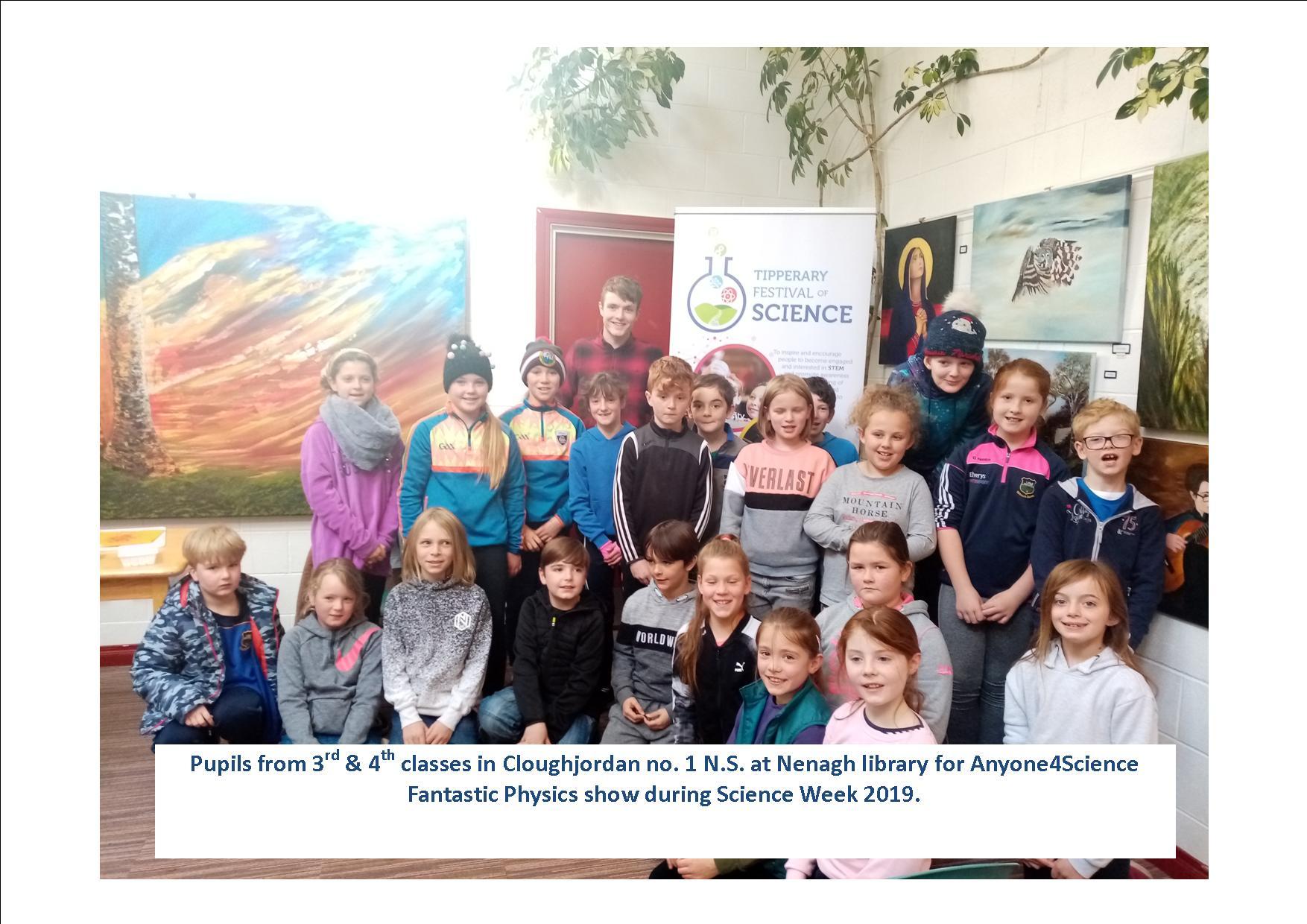 Science Week In Nenagh Library.