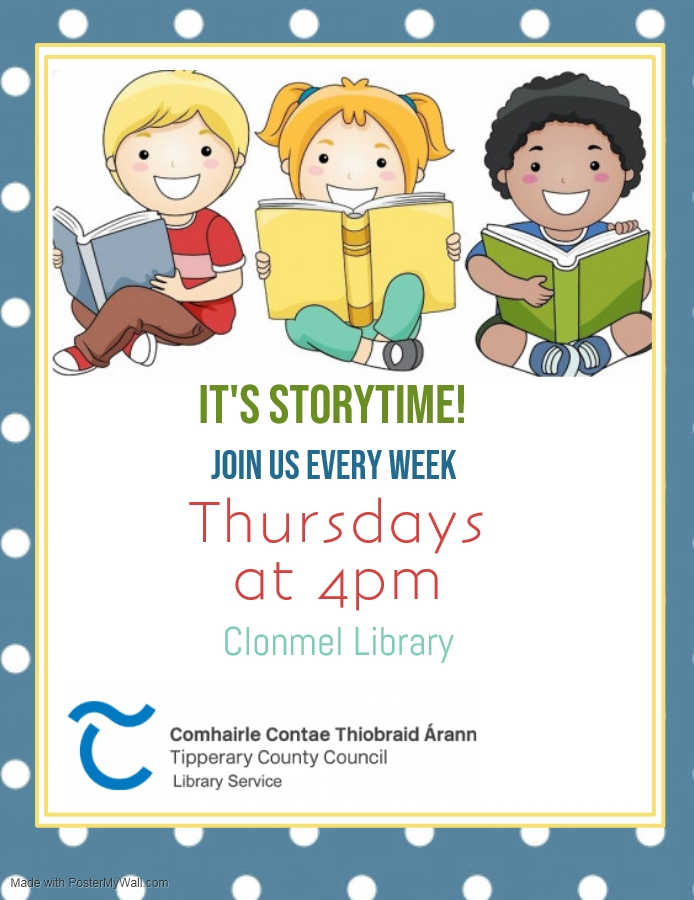 Storytime At Clonmel Library