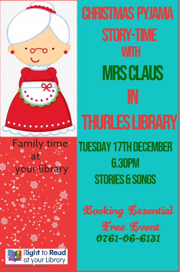 mrs Claus Story-time