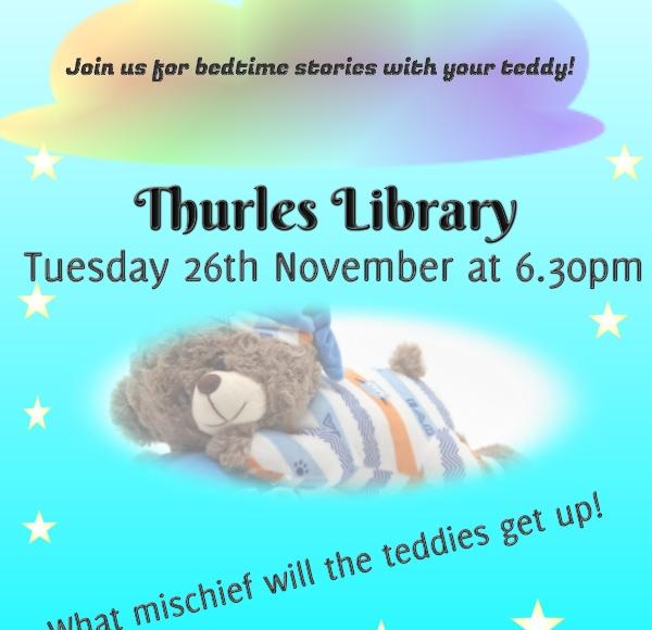 Teddy Bear Sleepover – Thurles Library