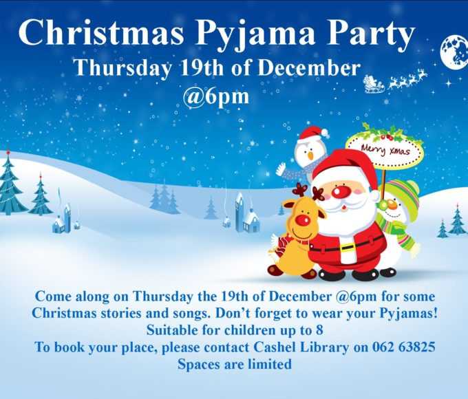 Christmas Pyjama Party In Cashel Library