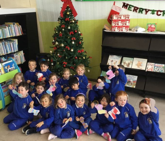 Scoil Angela's Christmas Storytime At Thurles Library