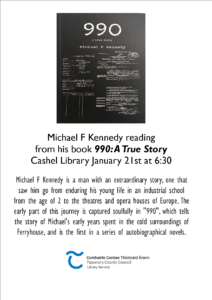 Michael F kennedy poster