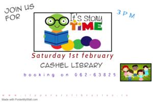 storytime cashel 1st february
