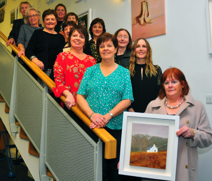 The Art Escape – Exhibition Launch In Cashel Library