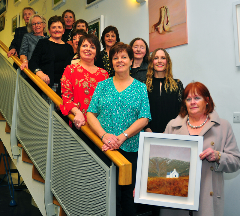 The Art Escape – Exhibition Launch In Cashel Library