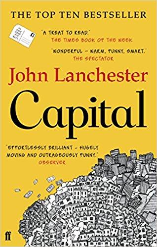 Capital By John Lanchester (Nenagh Evening Bookclub)